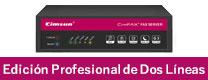 Servidor de fax sin papel Edición Profesional de Dos Líneas de Cimfax